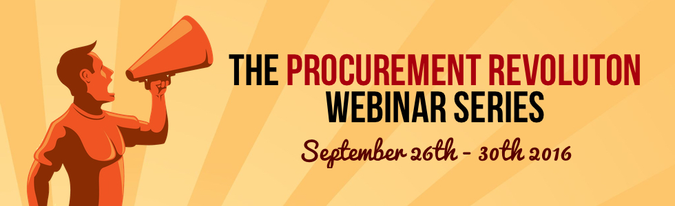 Join the Procurement Revolution!