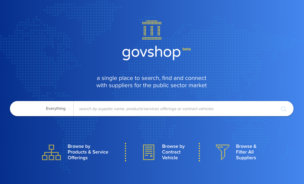 GovShop Is a Welcome Research Resource for Government Procurement